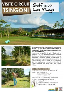 Office du tourisme de Mayotte - Golf Club les Ylangs