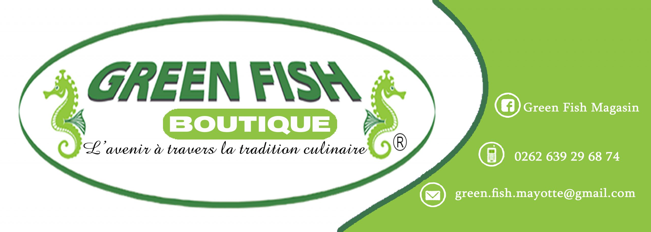 Label Green Fish