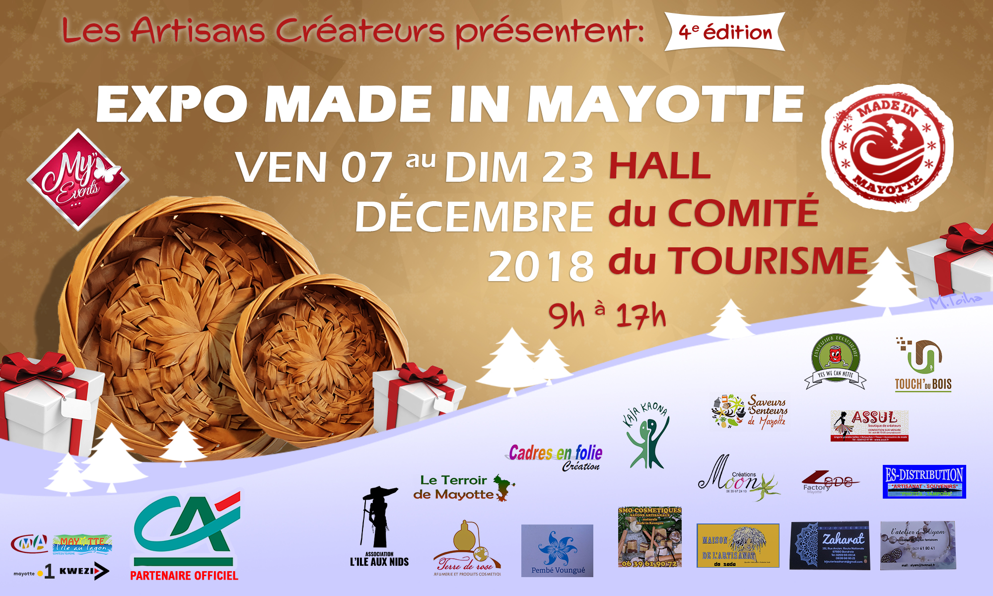 Expo Made In Mayotte: Edition 4 - Tourisme Mayotte