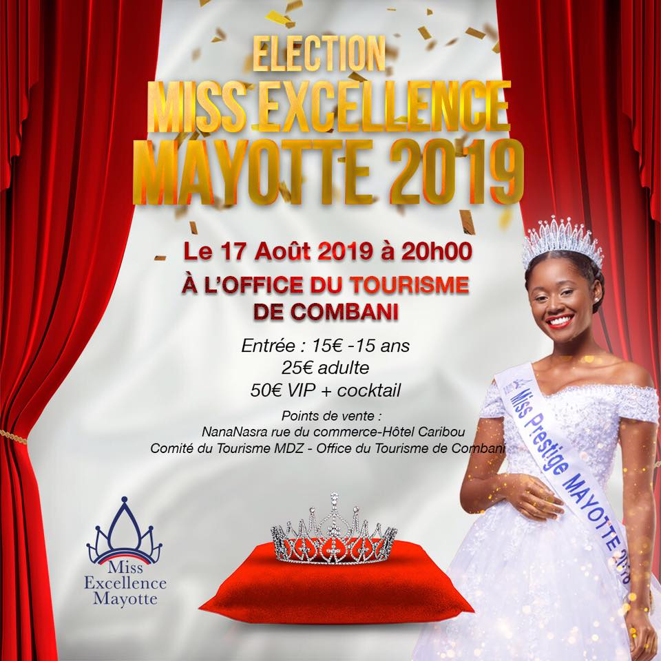 Miss Excellence Mayotte 2019 - Tourisme Mayotte