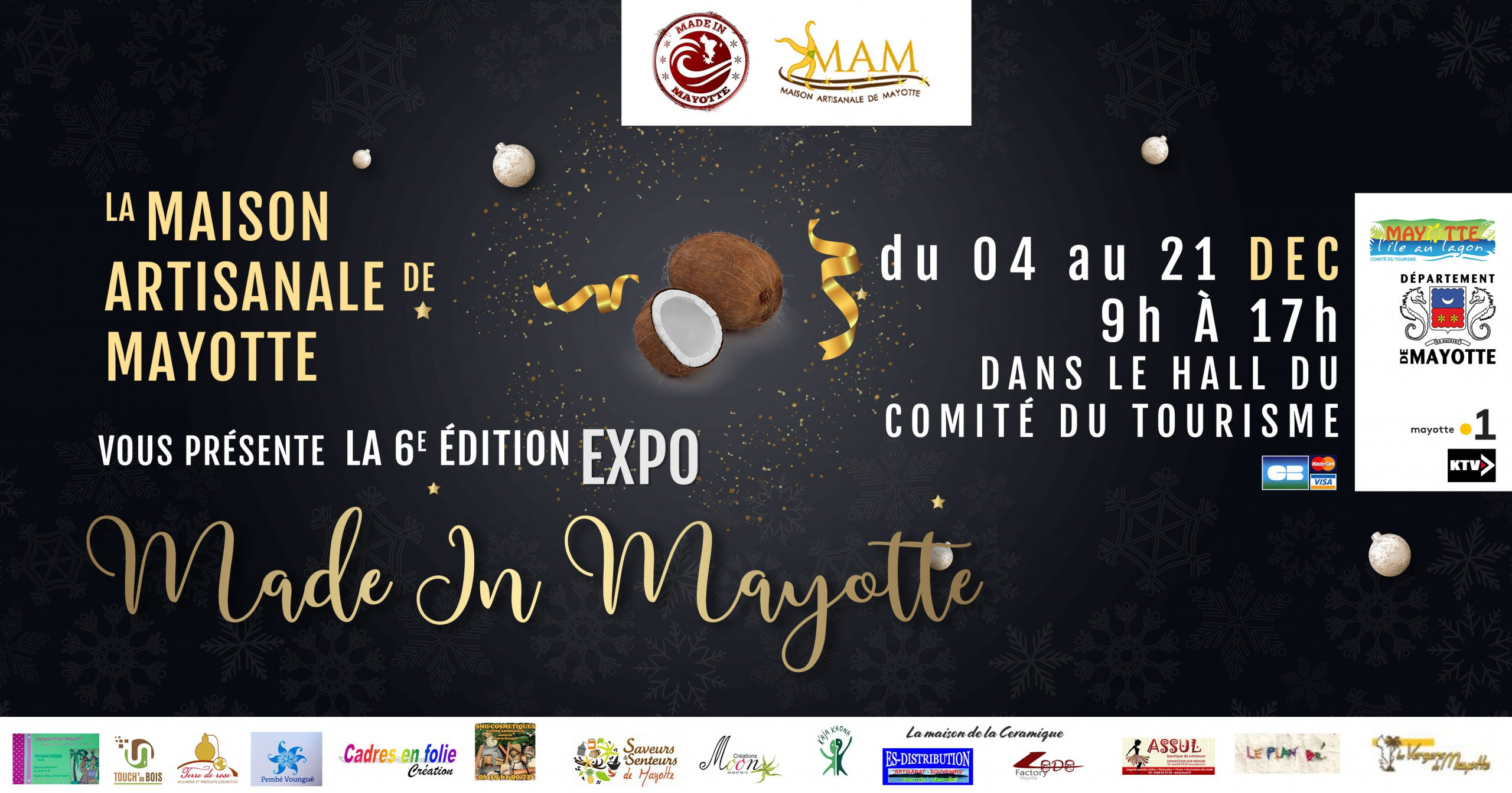 Expo Made In Mayotte 6 édition - Tourisme Mayotte